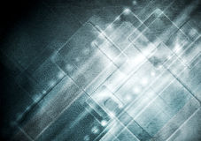 Abstract grunge hi-tech background Stock Photography