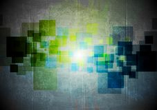 Abstract grunge hi-tech design Royalty Free Stock Photos