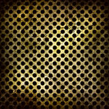 Abstract grunge iron surface with circles Stock Photo