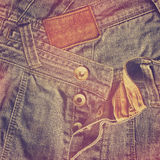 Abstract grunge jeans background Stock Images