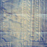 Abstract grunge jeans background Royalty Free Stock Photography