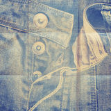 Abstract grunge jeans background Stock Photos