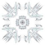 Abstract grunge lichtblauw patroon stock illustratie