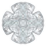 Abstract grunge lichtblauw patroon vector illustratie