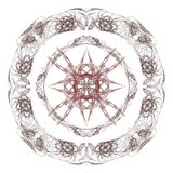 Abstract grunge maroon isolated pattern Royalty Free Stock Photography