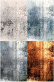 Abstract grunge metal backgrounds Royalty Free Stock Image