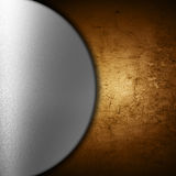Abstract grunge and metal background Stock Image