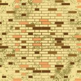 Abstract grunge mosaic tiles raster Stock Photography