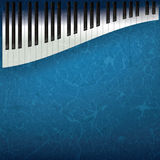 Abstract grunge music background Royalty Free Stock Image