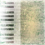 Abstract grunge music background Stock Image
