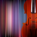 Abstract grunge music background with violin Stock Image