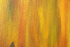 Abstract Grunge Oil Paint on Wood board. Royalty Free Stock Image