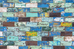 Abstract grunge old color wood texture background Royalty Free Stock Photos