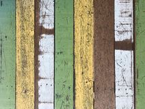 Abstract grunge old painted wooden board for background and text stock image