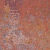 Abstract grunge orange pink wall backdrop Royalty Free Stock Photo