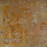 Abstract grunge orange rust wall background Stock Photo