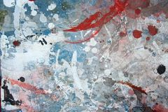 Abstract grunge painted wall background Stock Photography