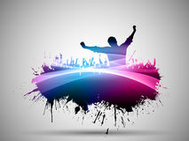 Abstract grunge party background Royalty Free Stock Photography