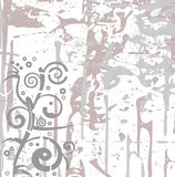 Abstract grunge pattern. In colors grey and violet royalty free illustration
