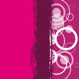 Abstract grunge pink banner Royalty Free Stock Photos