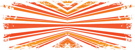 Abstract grunge with rays. A  red and orange abstract grunge with rays Royalty Free Stock Image