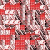Abstract grunge red texture fractal patterns Stock Images