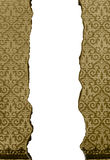 Abstract of Grunge  restaurant menu Stock Image