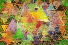 Abstract illustrations of shape, conceptual background. Pattern, canvas, geometric, floor & details. Abstract grunge & rough, blended texture overlay for web royalty free illustration