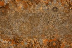 Abstract grunge & rough pattern background for name, caption or title. Shape, texture, wallpaper, creative & artwork. Abstract grunge & rough pattern background Royalty Free Stock Photo