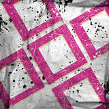 Abstract grunge squares. Background with stains Royalty Free Stock Photo