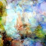 Abstract grunge stained and striped colorful background Royalty Free Stock Images