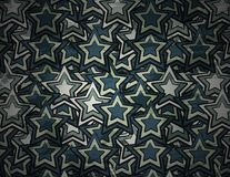 Abstract grunge star background Stock Images