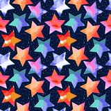 Abstract grunge stars Royalty Free Stock Image