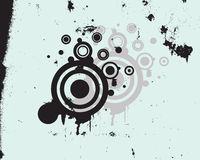 Abstract grunge style. Vector illustration of an abstract grunge background Stock Photos