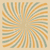 Abstract Grunge Sunburst  Background Vector Illustration Stock Photography