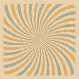 Abstract Grunge Sunburst  Background Vector Illustration Stock Photography