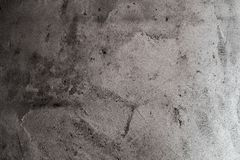 Urban, coarse background of a grey, dirty cement wall. Abstract grunge surface for copy with a stained, rough texture stock photos