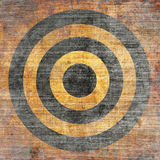 Abstract grunge target Stock Photography