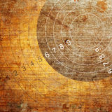 Abstract grunge target Royalty Free Stock Photo