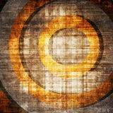 Abstract grunge target. With scratches Royalty Free Stock Photography