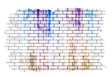 Abstract grunge tech background Royalty Free Stock Photography