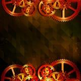 Grunge gears 05 Royalty Free Stock Image