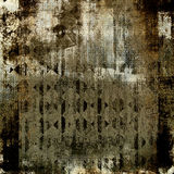 Abstract grunge texture. Depressive abstract collage in grunge style royalty free illustration