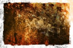 Abstract Grunge Textured background. With border / frame royalty free stock images