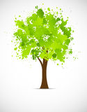 Abstract grunge tree Stock Images
