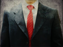 government taxes Abstract metaphor conecept of a man in suit Royalty Free Stock Photo