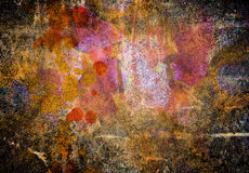 Abstract grunge wall Stock Photos