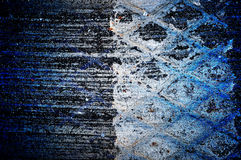 Abstract grunge wall. Abstract the old grunge wall for background royalty free illustration