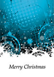 Abstract Grunge Winter Background Royalty Free Stock Photography