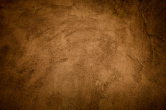 Abstract grunge yellow-brown background Stock Photo